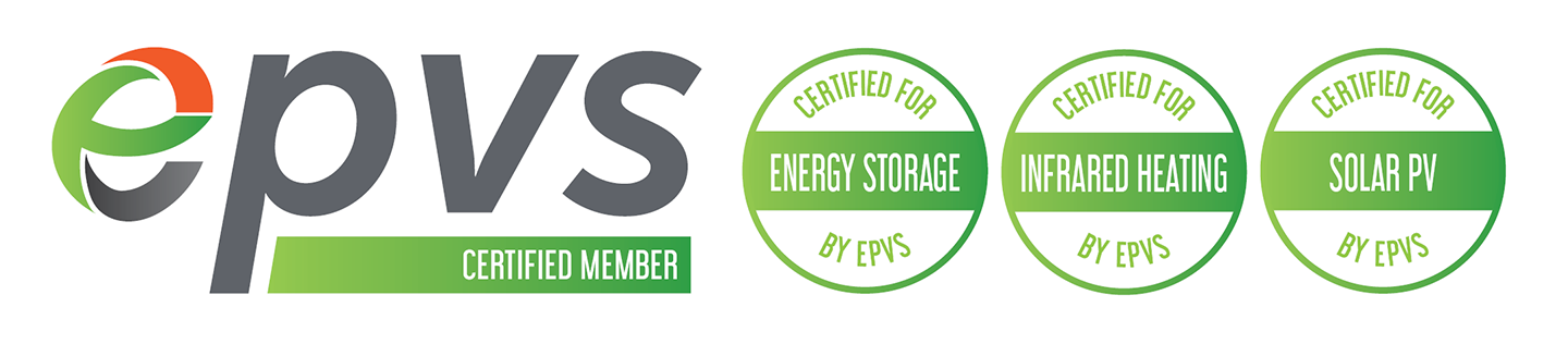 EPVS Energy Storage - Infrared heating - Solar PV